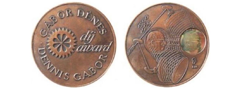 Gábor Dénes díj plakett