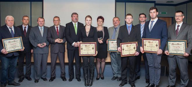 díjátadó